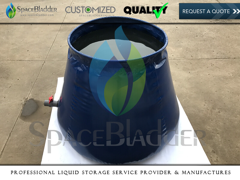 Onion Tank For Holding 1000lts Water to UK Customer