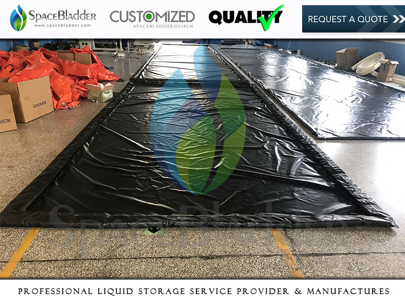 Customized PVC TPU Foldable Air Chamber Spill Berms