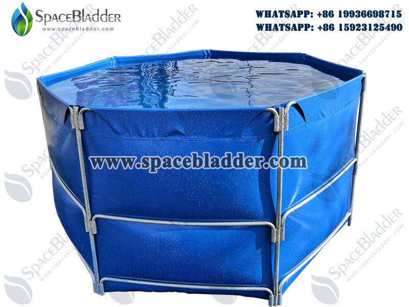 Collapsible Commercial Circular Aquaculture Tanks
